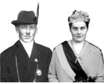 1929 Königspaar