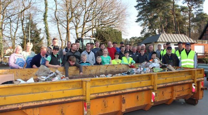Müllsammelaktion 2014