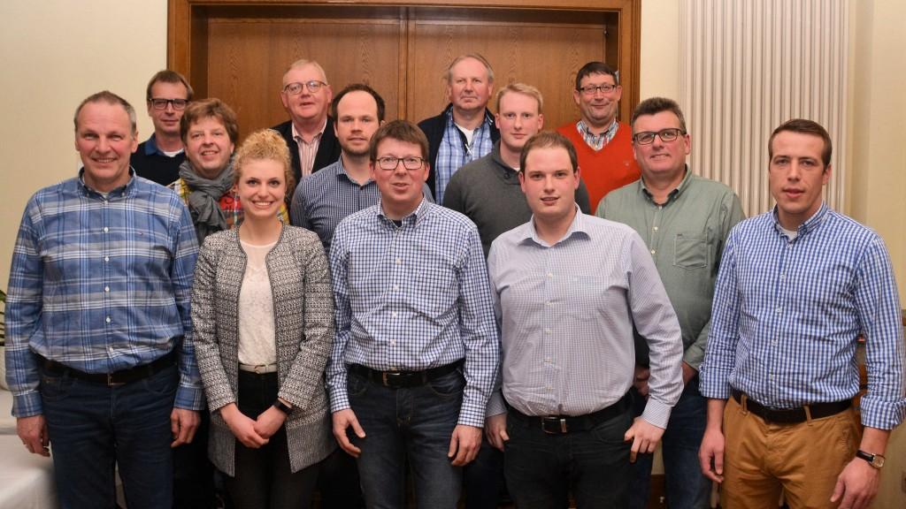 Vorstandsfoto Generalversammlung 12.02.2017
