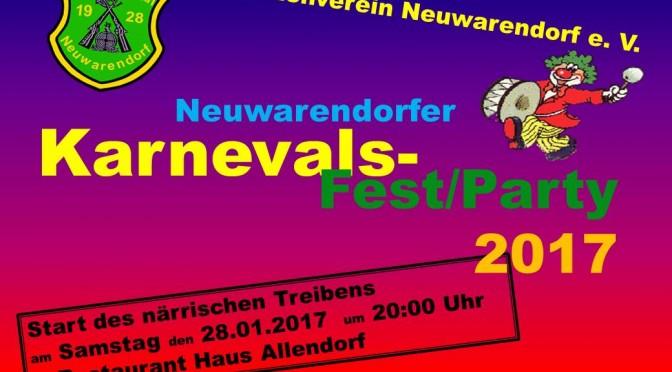 Einladung Winterschützenfest 2017