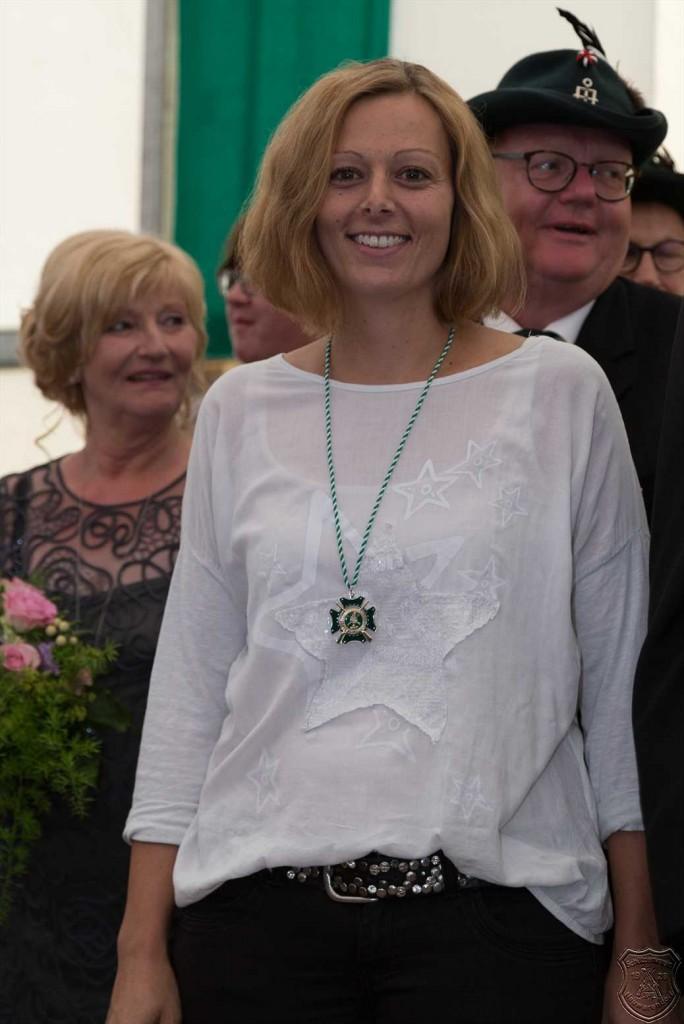 Hampelmannkönigin Nadine Hunkemöller.