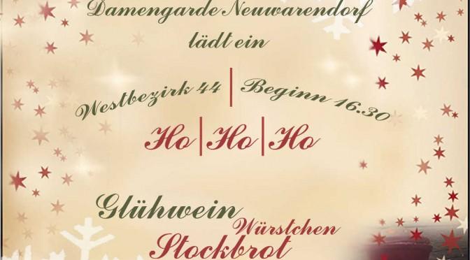 Einladung zum vorweihnachtlichen Abend am 22.12.2017