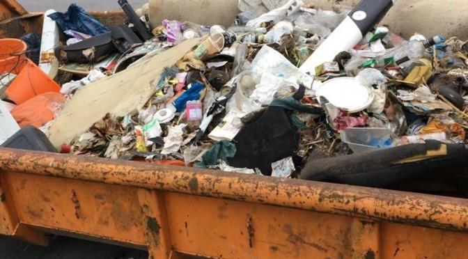 Müllsammelaktion 2018