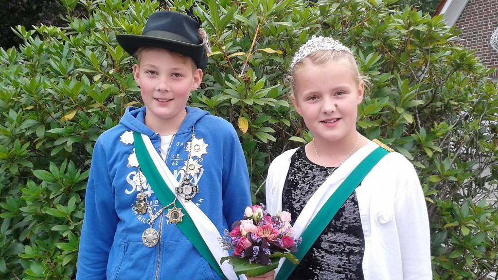 Kinderkönigspaar2018