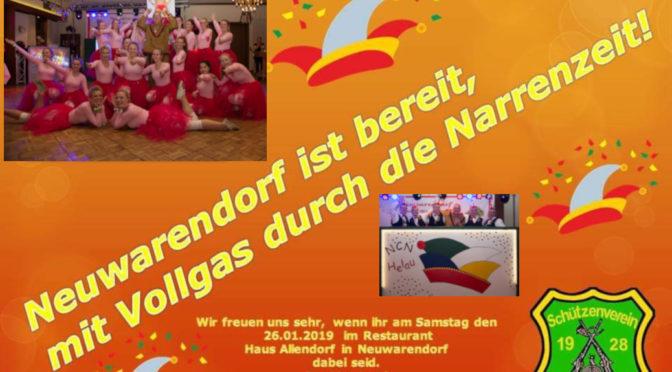 Einladung Winterschützenfest 2019